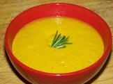 Tarka -- Winter Squash Soup with White Lentils