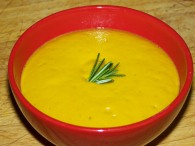 Tarka -- Winter Squash Soup with White Lentils