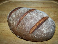 One of my first studies in sourdough