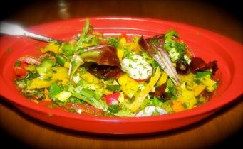 Salad from my garden