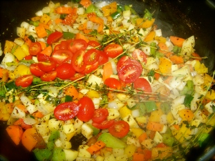 A very tasty vegetable dish