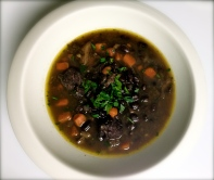 Spanish Sausage and Lentil Soup