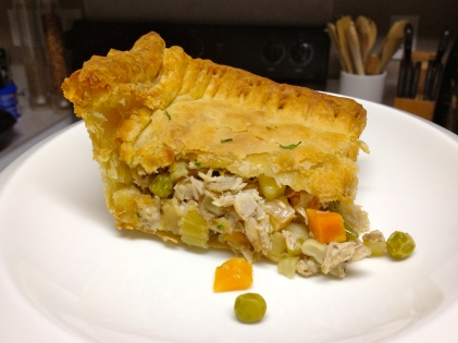 Leftovers at their best -- Scrape The Bottom Pot Pie