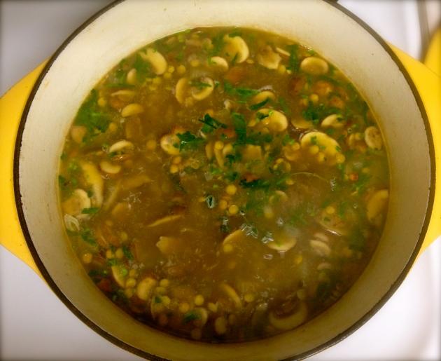 It's gradually beginning to look like soup
