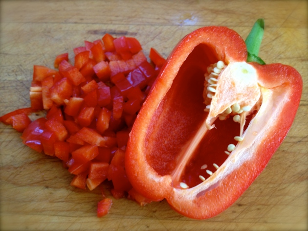 Pretty cheerful pepper