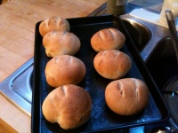 St Patrick's Day treat -- irish bread rolls