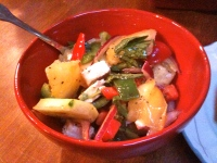 Some salad that looked good to me at the moment :)