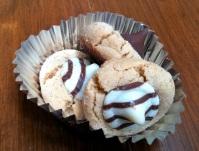 Peanut Butter Kisses Cookies