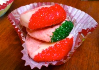 White Chocolate Cherry Cookies