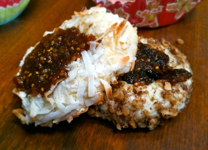 Polish Fig Cookies with Coconut