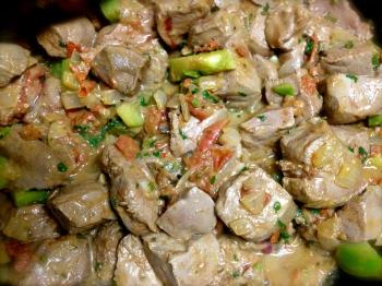Delicious Somalian liver recipe