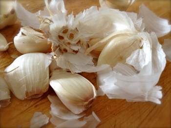 What pretty garlic