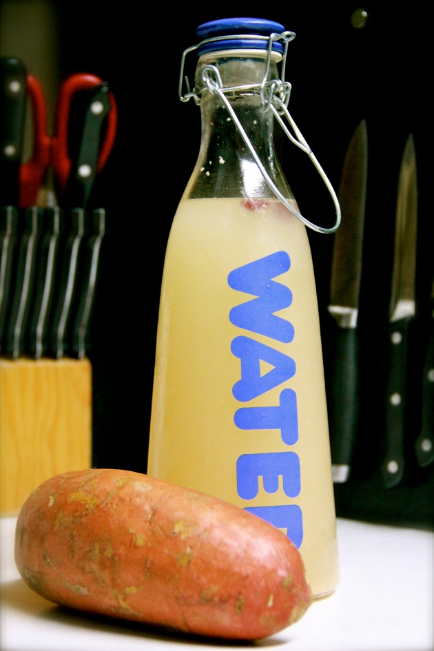 Sweet Potato Fly -- a refreshing and nutritious fermented drink