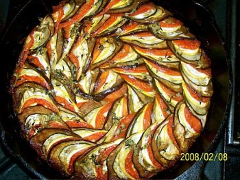 Thomas Keller's version of Ratatouille is called Confit Byaldi