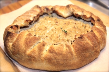 Curried Chicken Pie