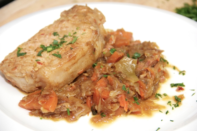 Julia Child's Choucroute Royale