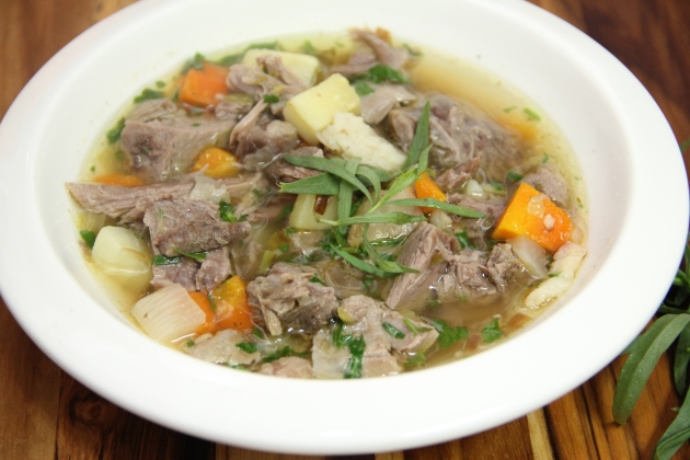 Cawl -- Welsh Lamb & Vegetable Soup