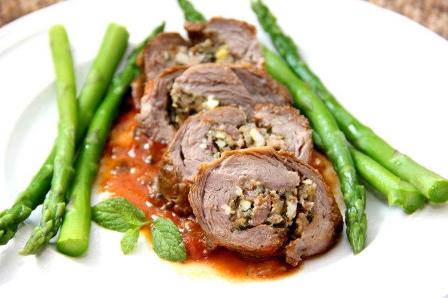 Stuffed Lamb Rolls From Abruzzo