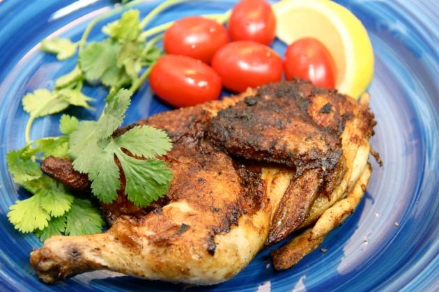 Chicken Tapaka -- A Simple Georgian Dish
