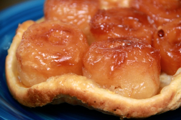 Making Classic Apple Tarte Tatin