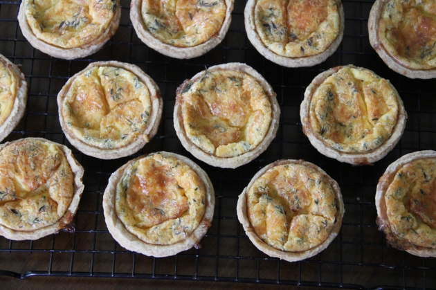 Cheddar Cheese Pies