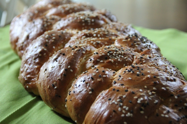Challah. Pretty, soft and delicious