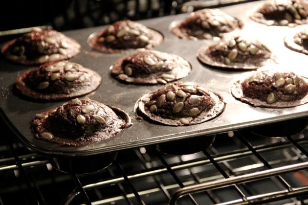 Oatmeal & Molasses Muffins