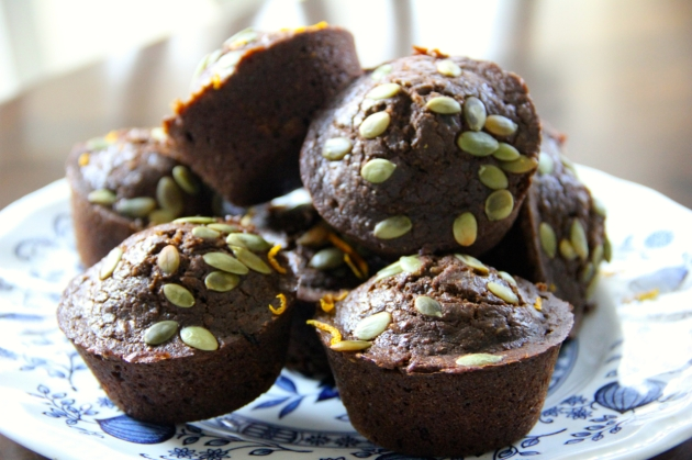 Oatmeal & Molasses Muffins