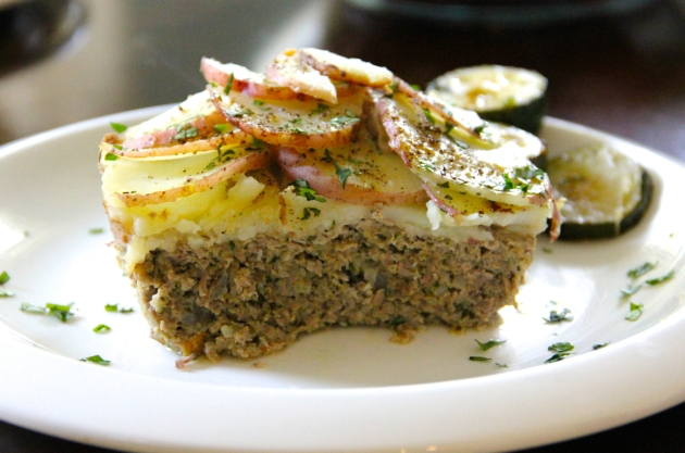 Curried Tater Top Meatloaf