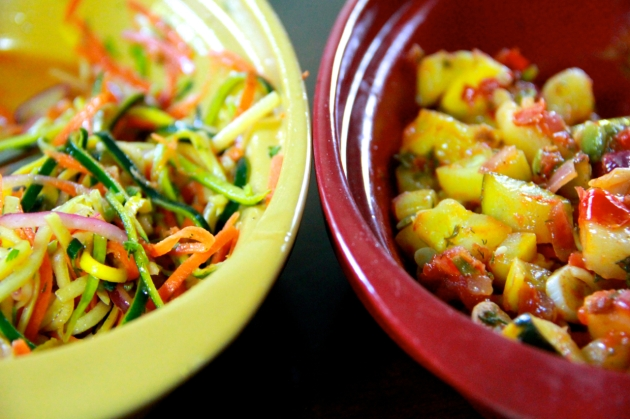 Summer Squash Two Ways