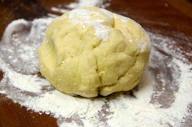 Cheese Swirls: ready dough