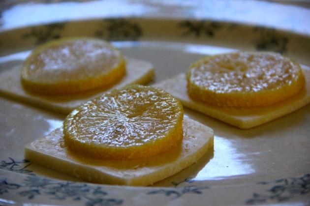 Lemon & Cheese Appetizer